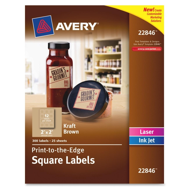 how to set printer to print avery labels