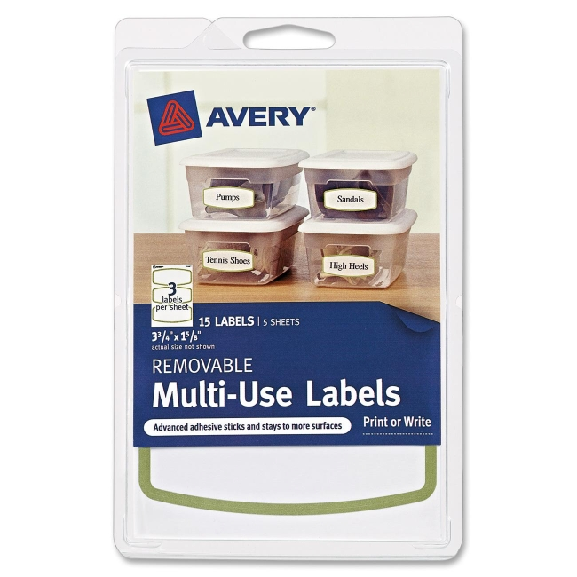 how to add border to avery labels