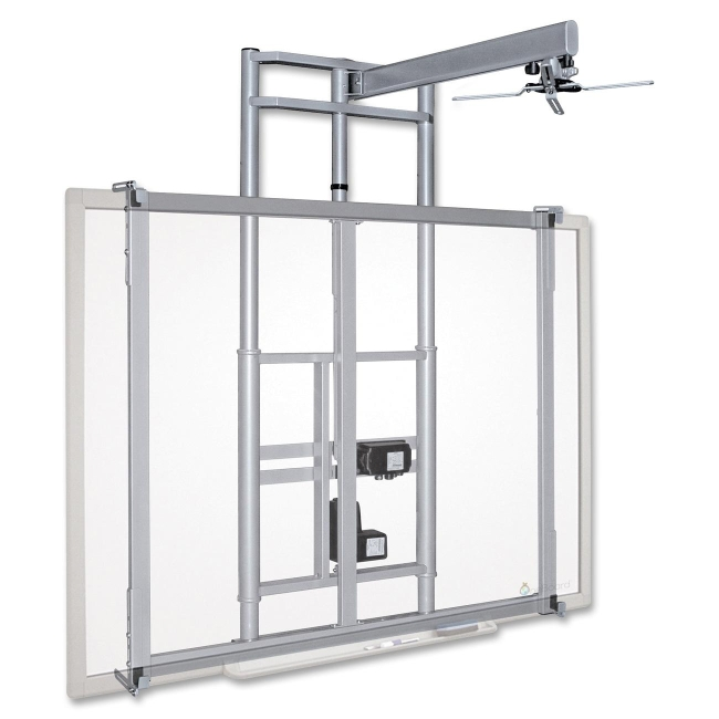 mooreco balt iteach wall mount for whiteboard cart projector steel - Projector Wall Mount