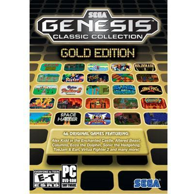 Sega Genesis Collection ? Gold Edition