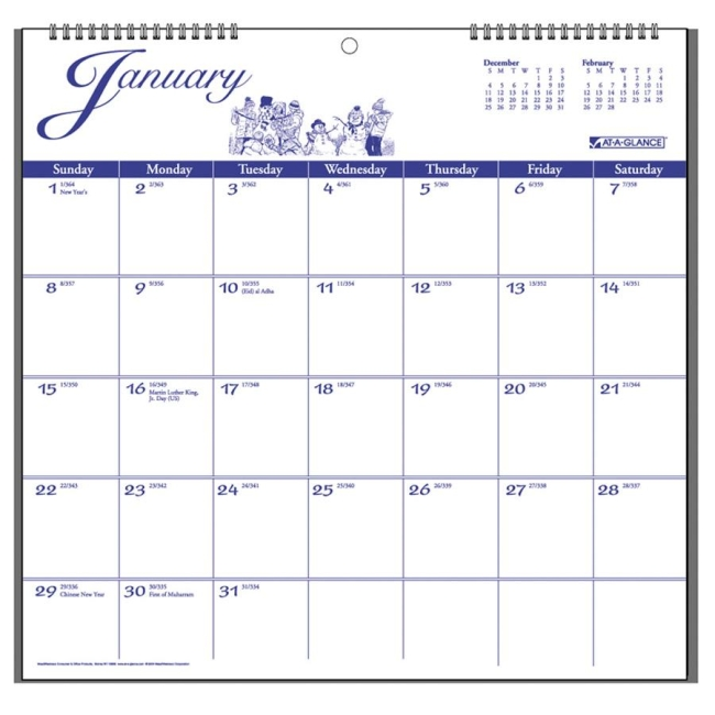 At A Glance Calendar Wall Holder New Calendar Template Site