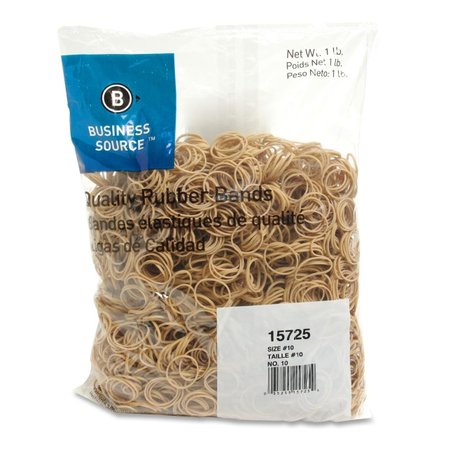 Business Source Quality Rubber Band - Size: 10 - Quickship.com