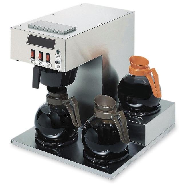 Pro Coffee Maker ~ Coffee pro cp lb three burner low profile maker