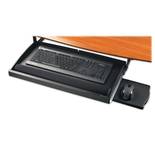 Compucessory Under Desk Keyboard Drawer Black
