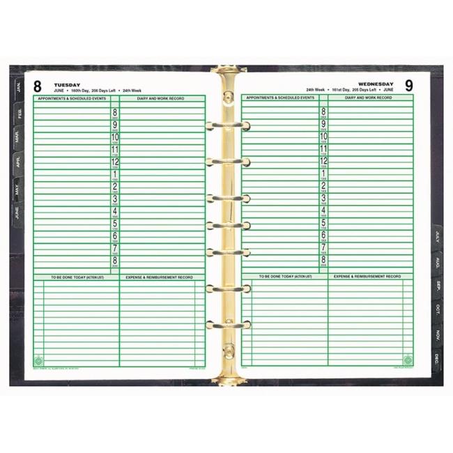 DayTimer Planner Refill 550 x 850 Quickship – Daytimer Planner