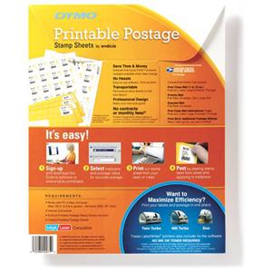 Dymo Printable Postage Stamp Label Quickship Com