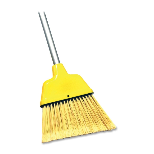 Genuine Joe 09570 Manual Broom 1 Each Yellow