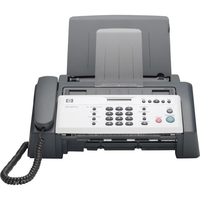 hp fax machine