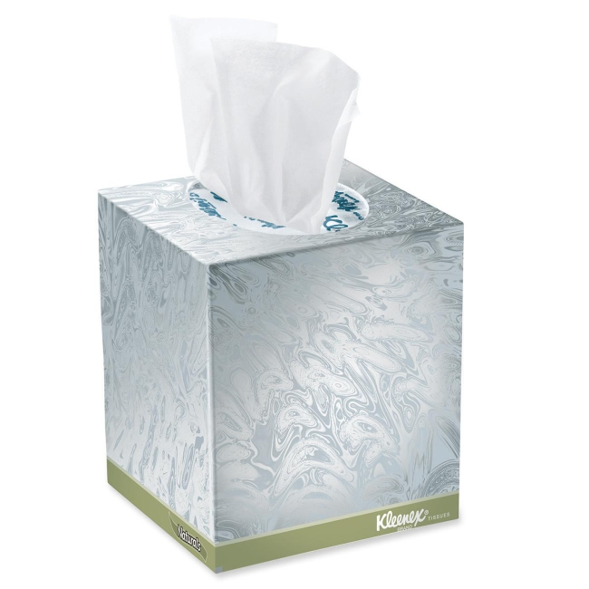 Facial kleenex tissue you