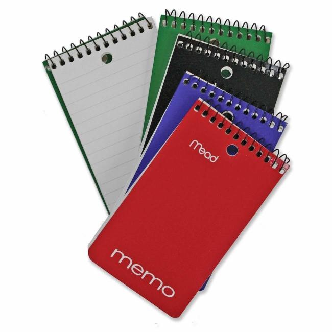 Hilroy Coil Memo Notebook 60 Sheets Quickship Com