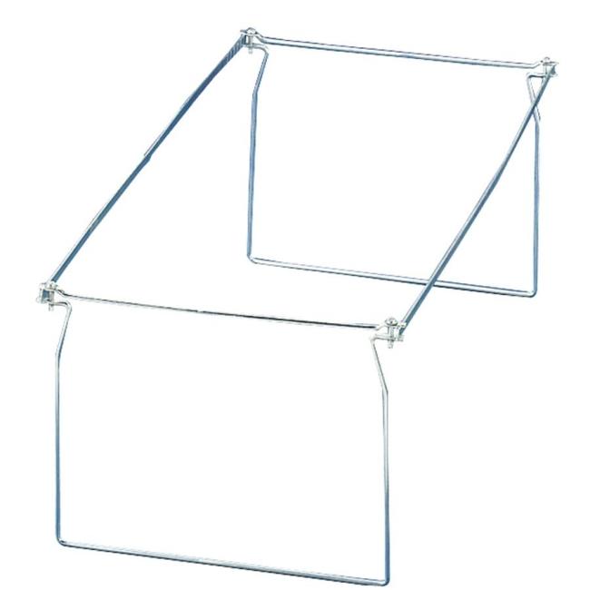 Oic Hanging Folder Frame Steel Silver 6 Box