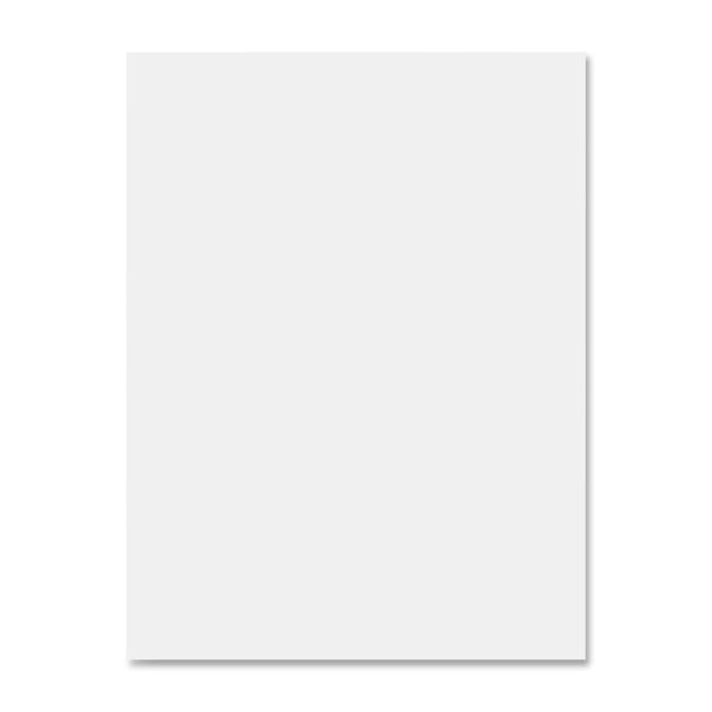 white construction paper