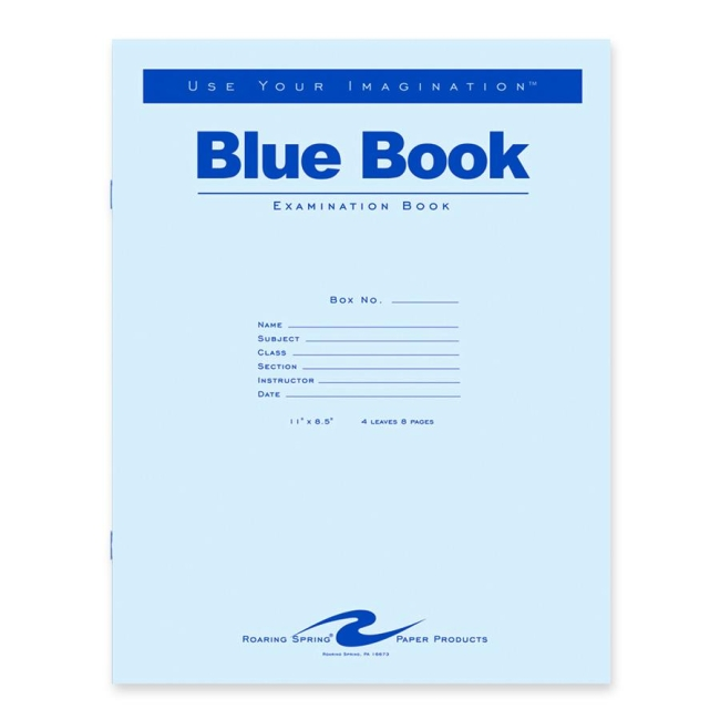 blue book college essay