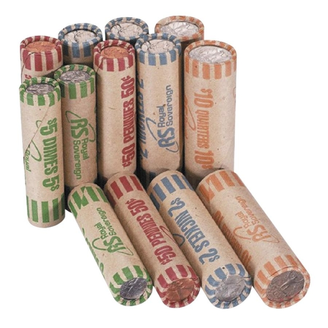 penny coin wrappers