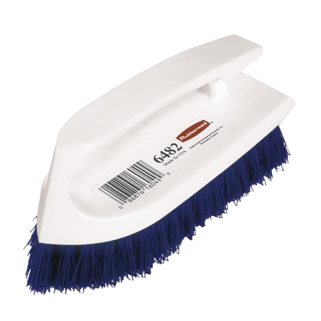 Rubbermaid Iron Handle Scrub Brush Quickshipcom