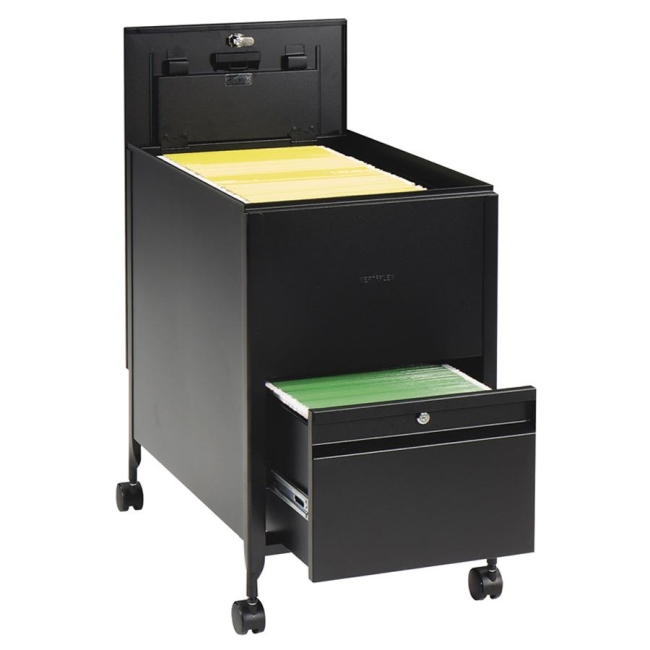Safco Rollaway Mobile File Cart 17 Quot Width X 26 Quot Depth X