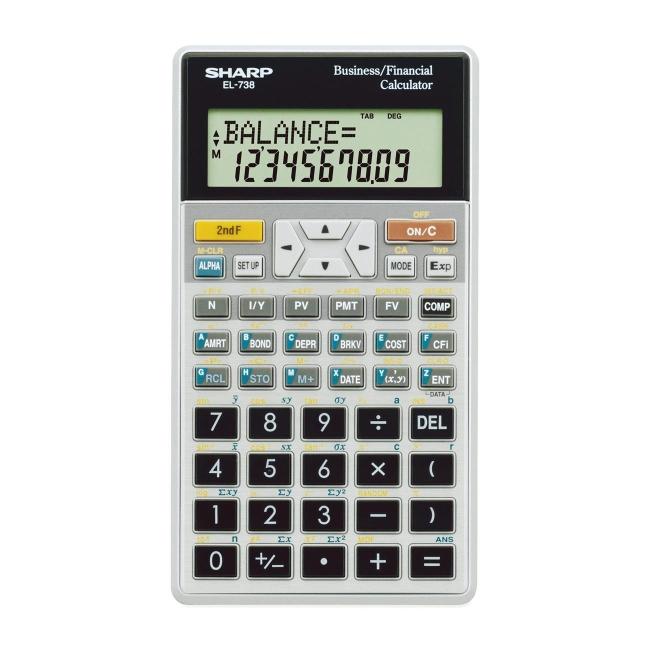 sharp 733 financial calculator manual