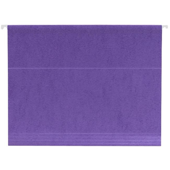 Smead Letter Size Hanging File Folder 25 Box Purple