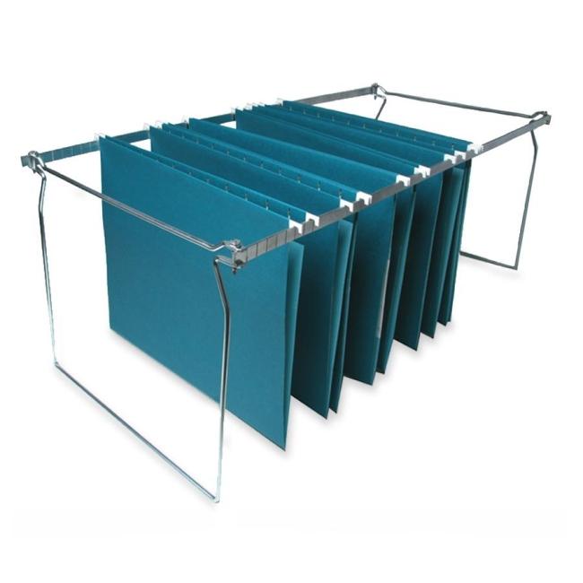 Sparco Hanging File Folder Frame - 1 Each - Silver - Quickship.com