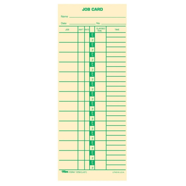 work timecard