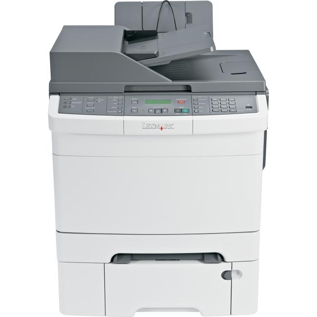 lexmark x546dtn laser multifunction printer color plain paper