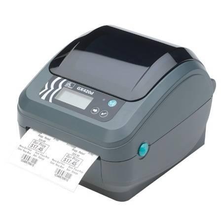 Zebra GX420d Direct Thermal Printer - Monochrome - Label ...