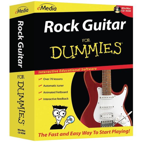 emedia rock guitar for dummies r cd rom. Black Bedroom Furniture Sets. Home Design Ideas
