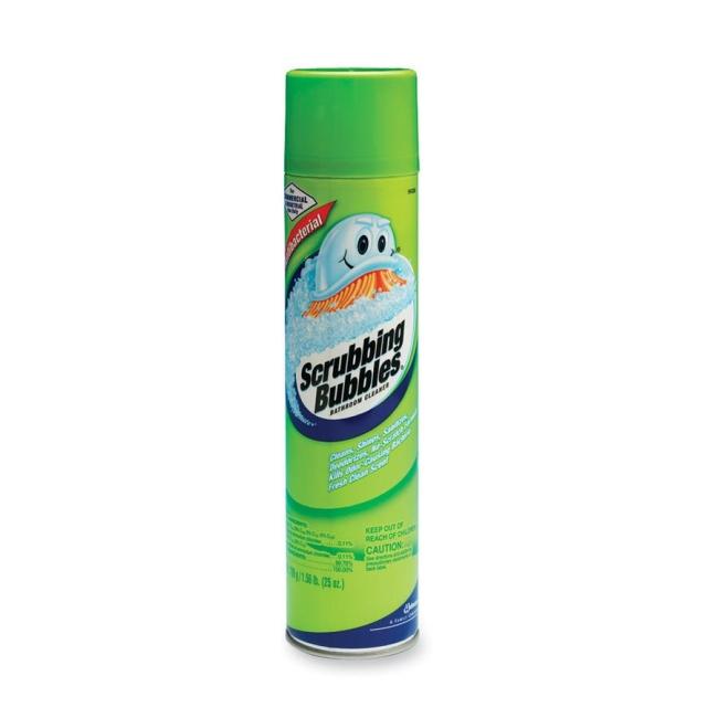 Scrubbing Bubbles Bathroom Cleaner Aerosol 25 Fl Oz