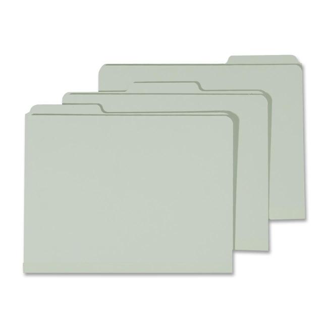 Skilcraft Heavy-Duty Pressboard File Folder - Letter - 8.5