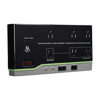 AR 6 Outlet Home Office Surge Protector - Ecoefficient