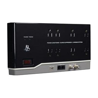 Audiovox 8 Outlet 6\' Home Theater Power Conditit