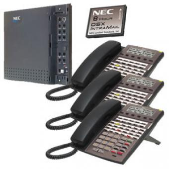 NEC KIT DSX40 and IntraMail and 3 34B Phones (1091026)