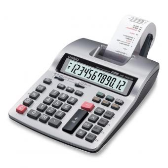Casio Printing Calculator - Dual Color