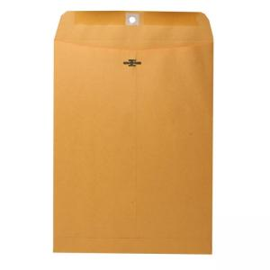 Nature Saver Clasp Envelopes - Yellow - 100 / Box