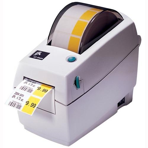 Zebra LP 2824 Plus Direct Thermal Printer - Monochrome ...