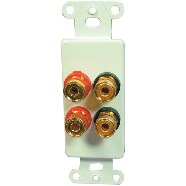 OEM Systems 5-Way Binding Posts (4-connector Plate