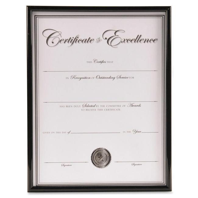 503be3d073e Burnes Group Backloading Document Certificate Frame - 8.50