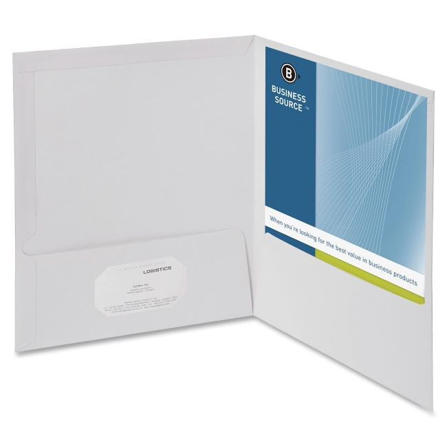 Business source two pocket folders with business card holder business source two pocket folders with business card holder letter 850 x colourmoves