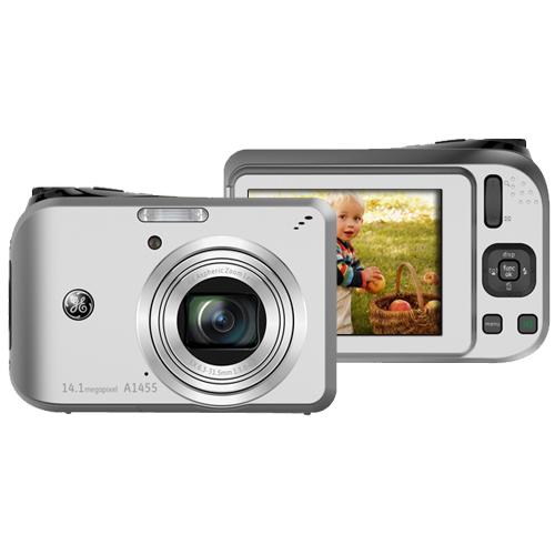 ge a1455 14 1 megapixel compact camera 6 30 mm 31 50 mm silver rh quickship com iPad Mini iPad Mini
