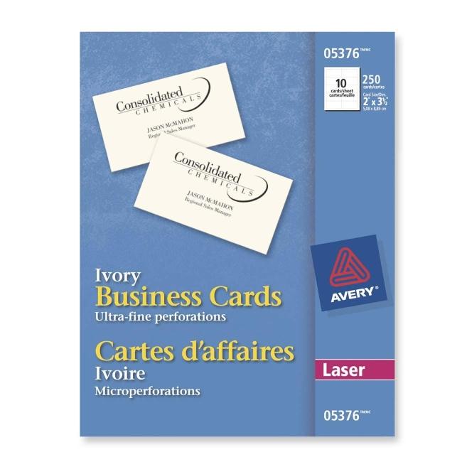 Avery laser business cards business cards 25 pcs quickship avery laser business cards business cards 25 pcs colourmoves