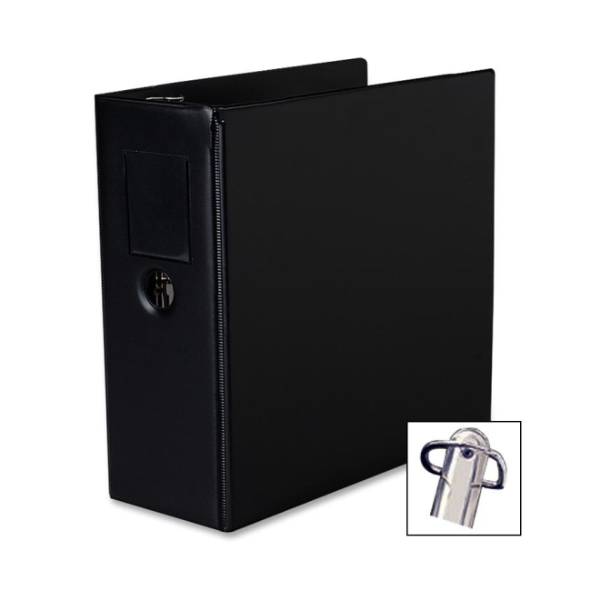 avery durable slant reference binder with label holder 5 capacity