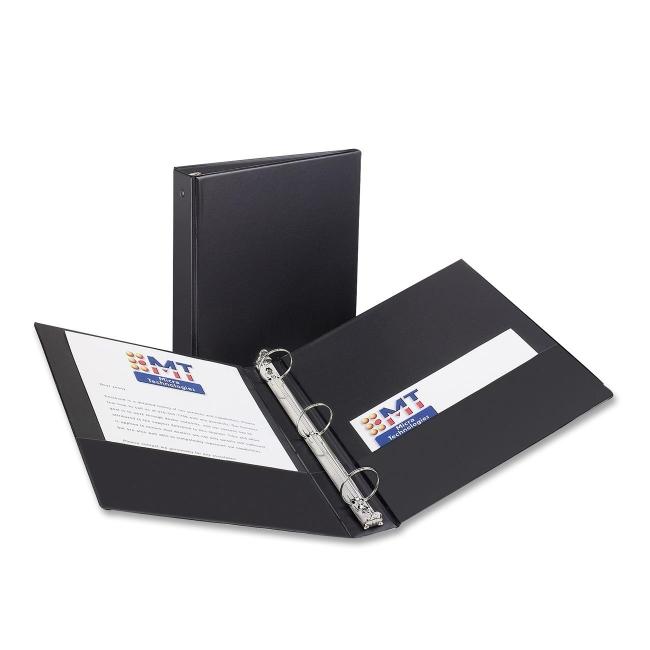 avery economy reference ring binder 1 5 capacity quickship com