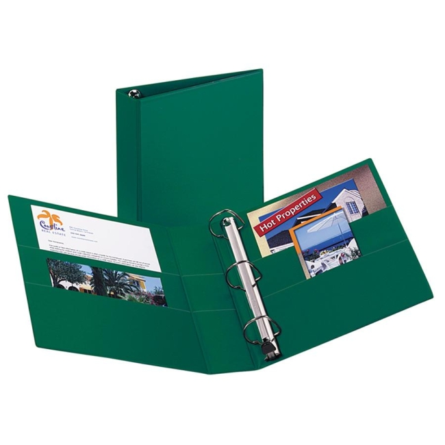 avery ezd heavy duty reference binder 2 capacity quickship com
