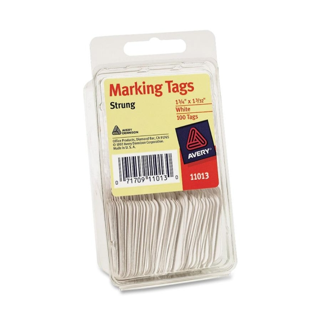 avery tag pak marking tags 100 pack white quickship com