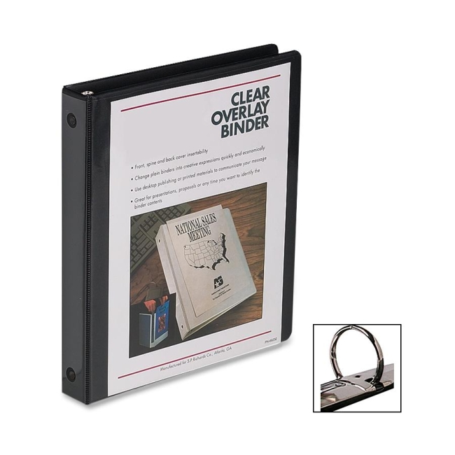 business source standard presentation binder 0 50 capacity