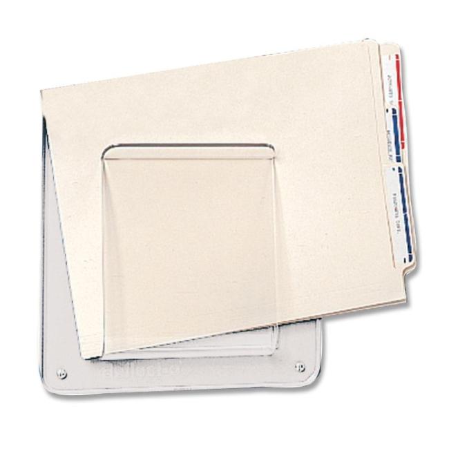 Deflect o file chart holder clear 1 each quickship com