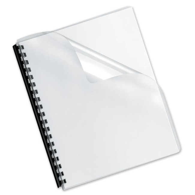 Fellowes Clear Presentation Binding Cover Quickship Com