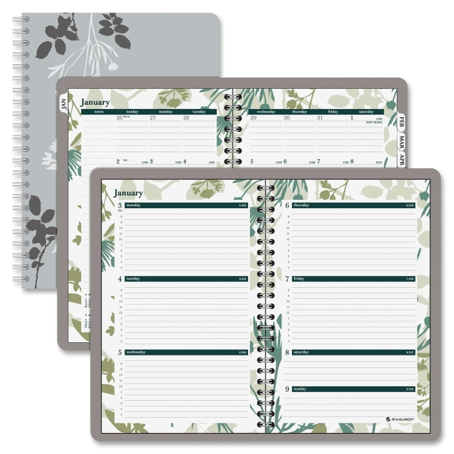 mead day runner botanique desk weeklymonthly planner weekly monthly 5