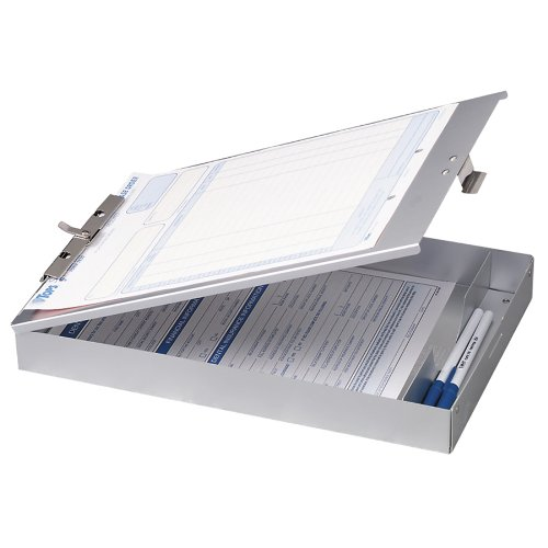 OIC Aluminum Storage Clipboard