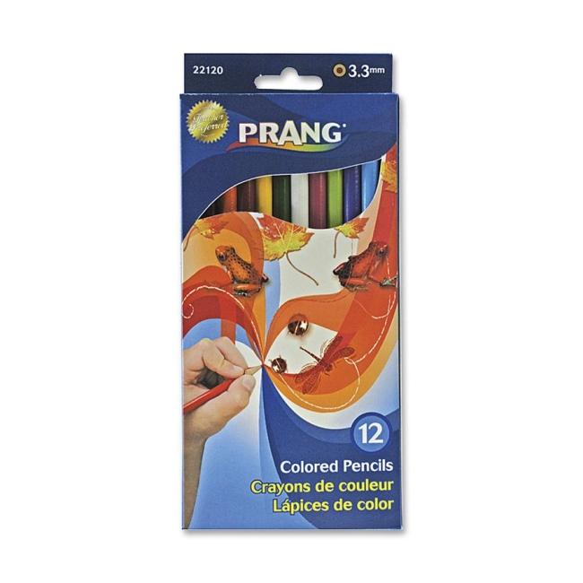 Prang Colored Pencils - Assorted - 12 / Set - Quickship.com
